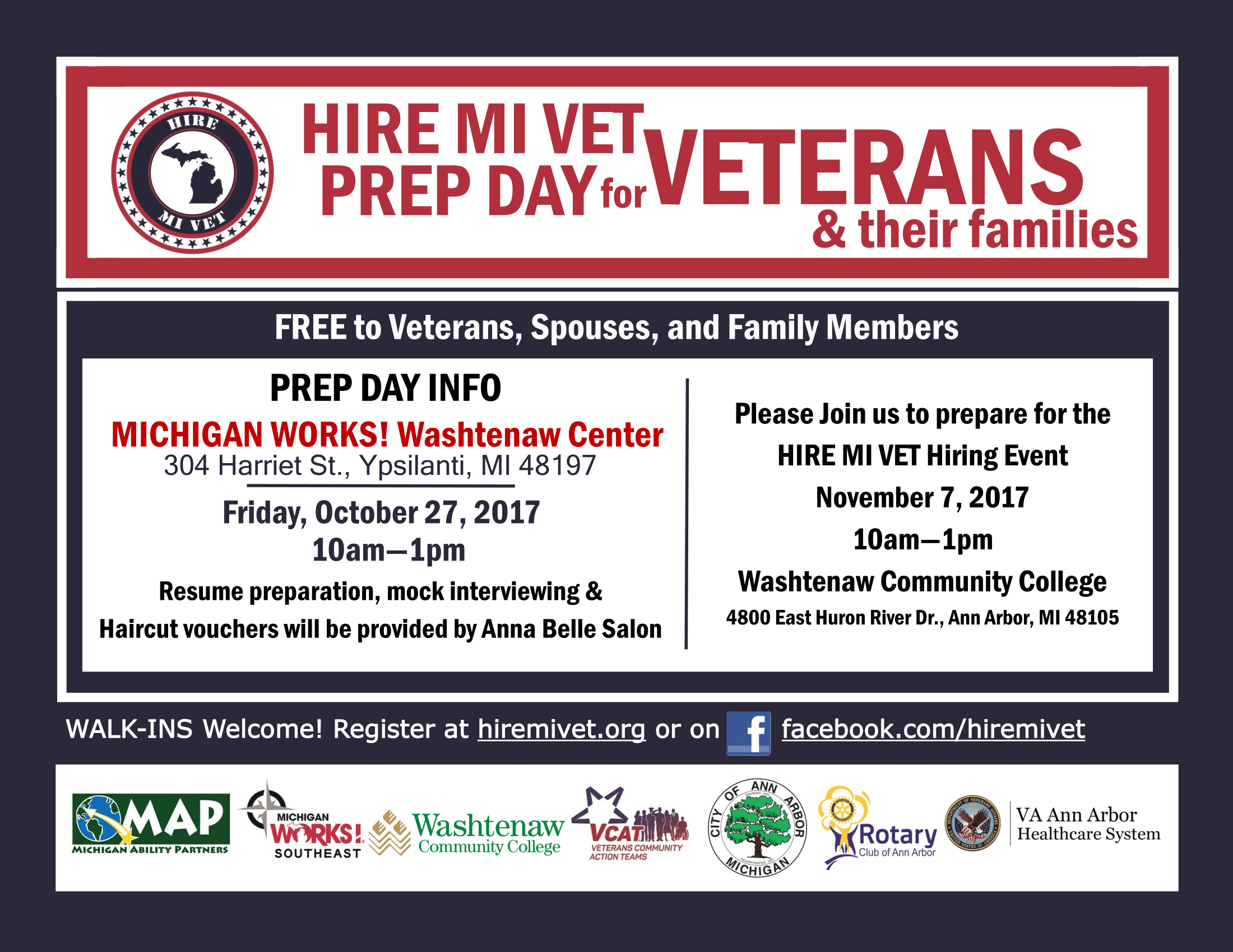 washtenaw prep day oct 27 2017 - Free Resume Help For Veterans